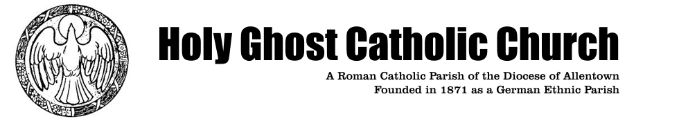 Holy Ghost Catholic Church | History of the Parish